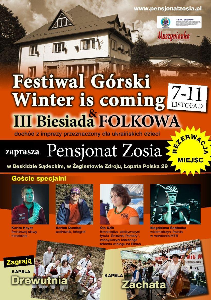 Festiwal Górkis Winter is coming