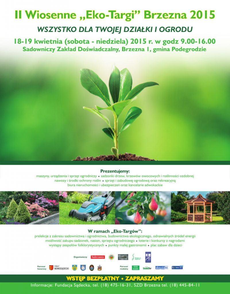 Eko Targi 2015 reklama - Brzezna